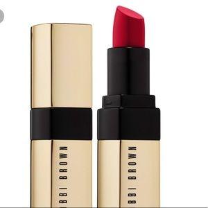 NIB Bobbi Brown Luxe Lip Color in Imperial Red
